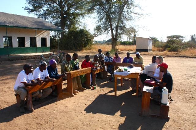 Pravidelná setkání se svépomocnými skupinami probíhají s námi, i v době naší nepřítomnosti - foto Martin Schlossarek
